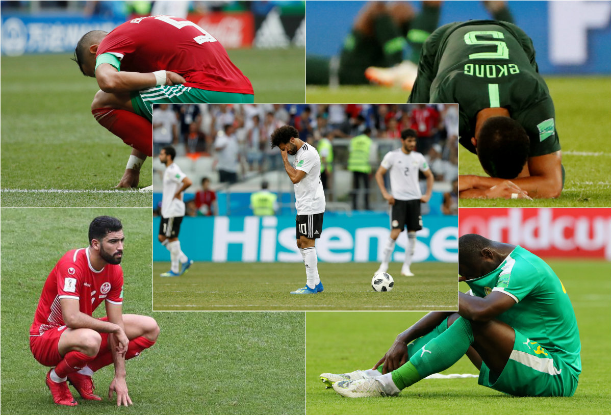 African deleted Russia 2018