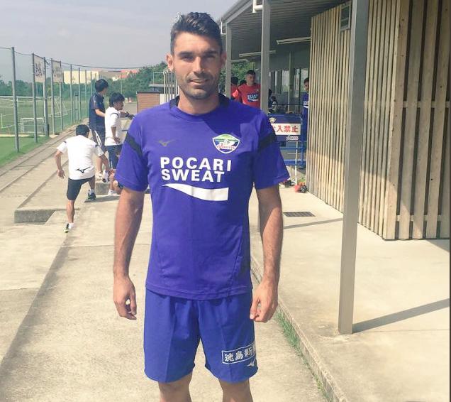 David Barral rumbo a la Segunda División de Japón