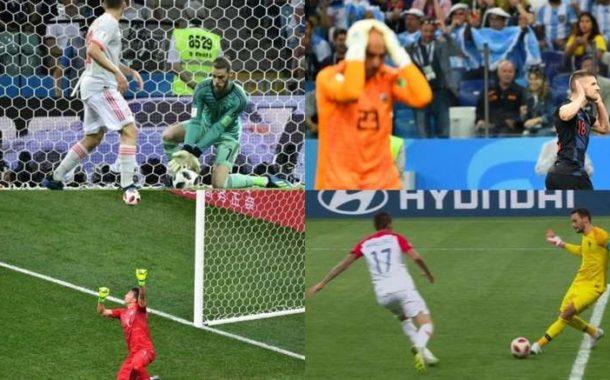 Las cuatro cantadas del Mundial de Rusia 2018