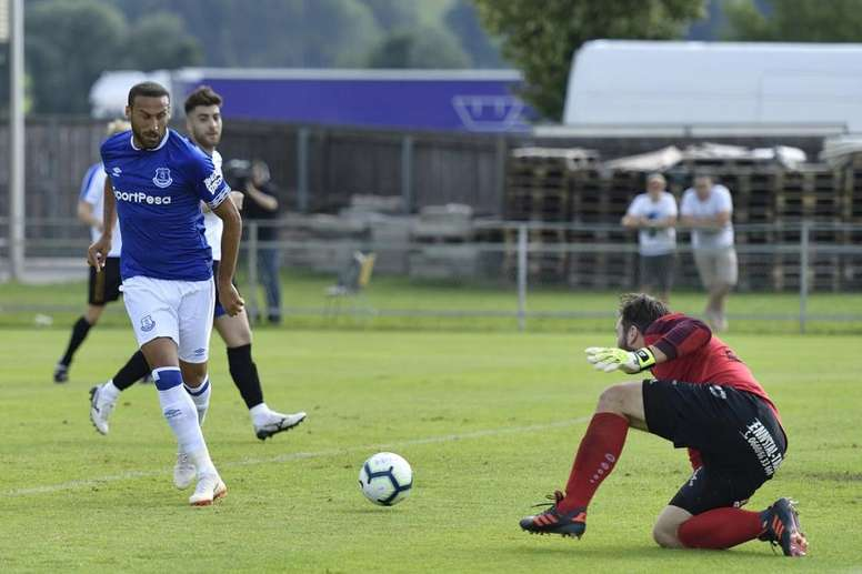 Everton wins 0-22 in a preseason game