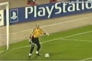 El curioso gol que el Valencia le marcó a Stanislav Cherchésov