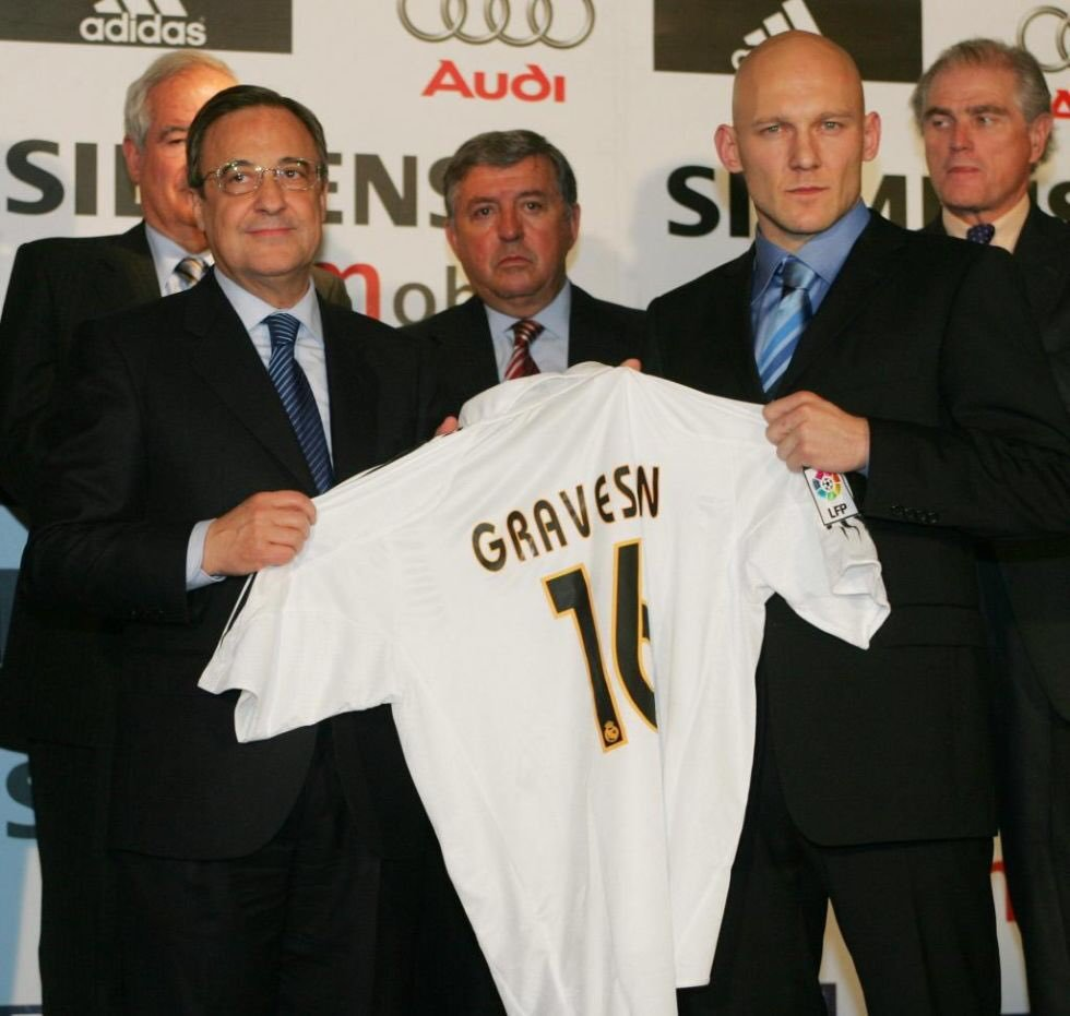 Gravesen among the worst players in the history of Real Madrid
