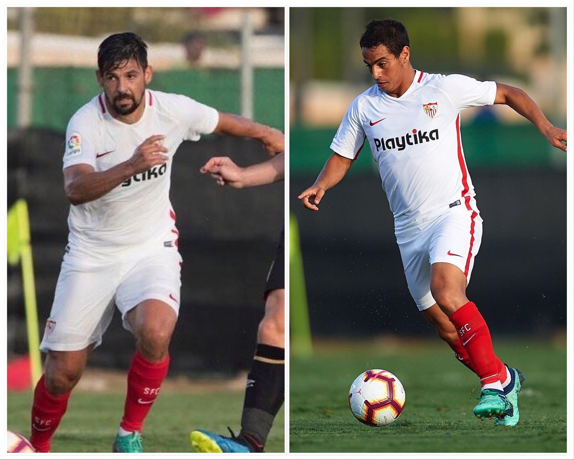 La forma física de algunos jugadores del Sevilla levantan comentarios en las redes sociales