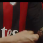 Milan presents his new jersey