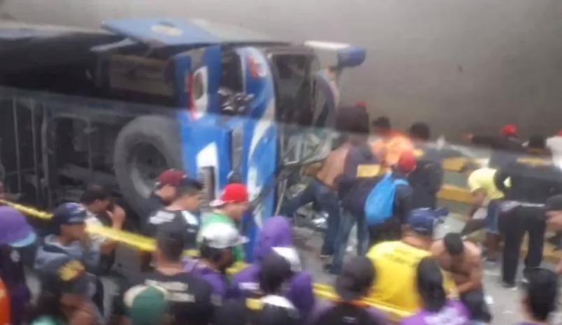 Accident bus Barcelona fans SC leaves several dead