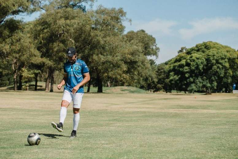 Mythical former Valencia will play another World Cup, the one with 'footgolf'
