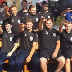 Seven German players dismissed for making the Nazi salute