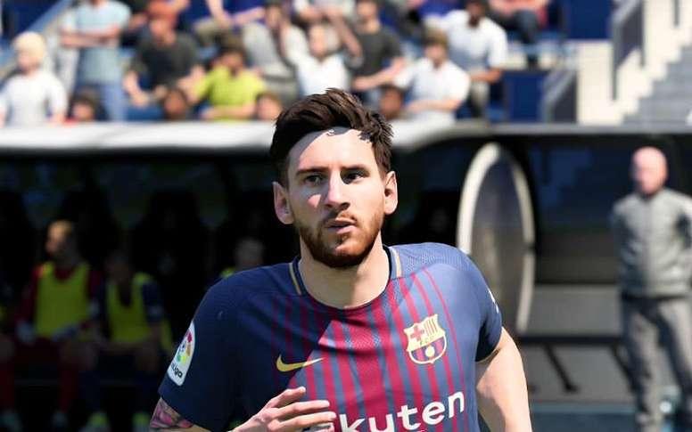 Ein Spieler in der Ligue One Englisch besser als Messi in FIFA 19