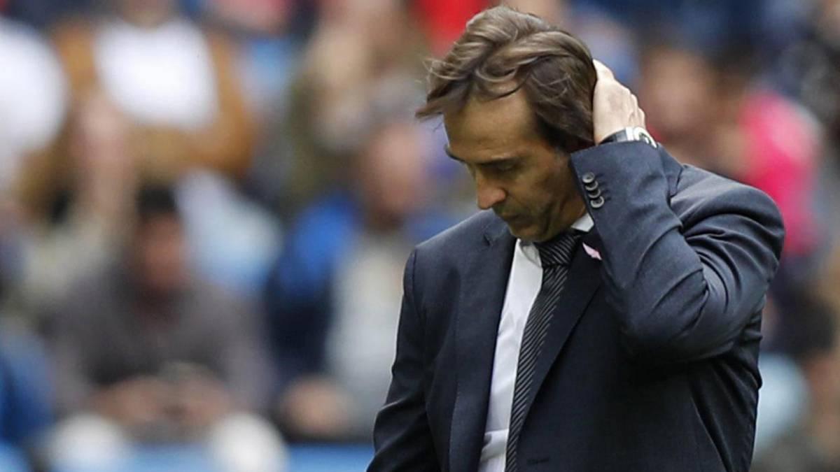 Los peores meses de la carrera de Julen Lopetegui como entrenador