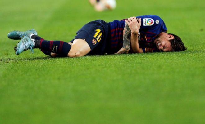 Messi no jugará el Clásico y estará 3 semanas de baja