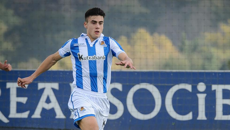 Ander Barrenechea with debut 16 years in the Spanish League
