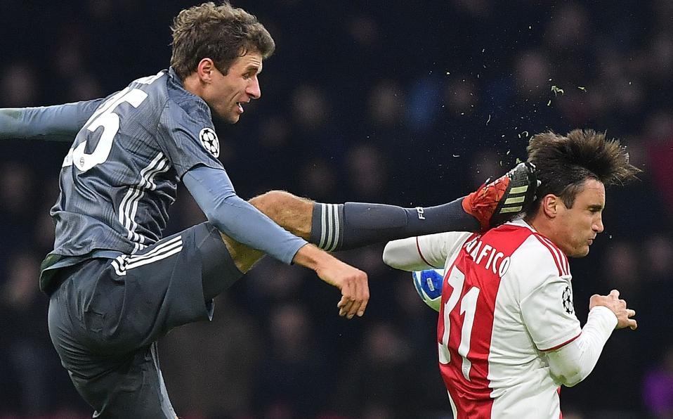 Terrible kick Müller to Tagliafico, German Apologizes to Argentine networks