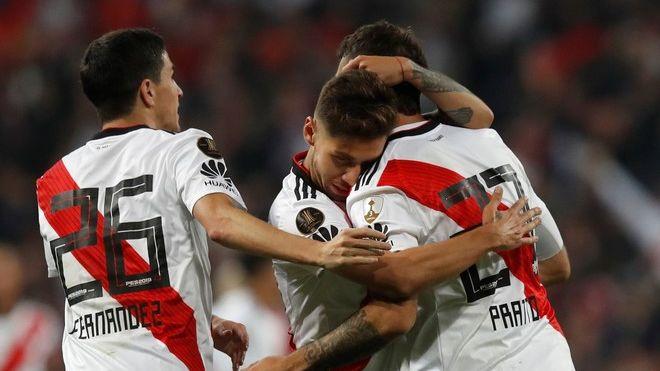 River Plate won his fourth Copa Libertadores against Boca at the Bernabeu