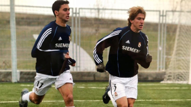 Filipe Luis, one of those players who passed through the quarry Real Madrid