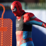 Spiderman is training with Leicester City
