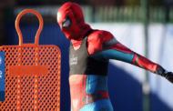 Spiderman se entrena con el Leicester City