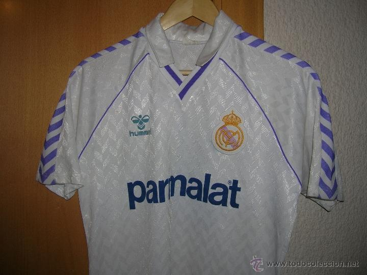 camisetas historia del Real Madrid