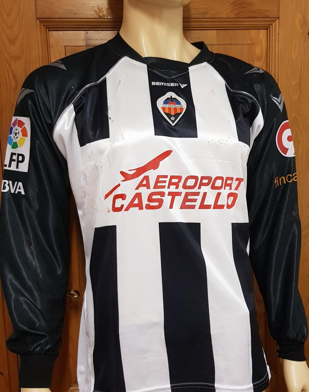 camiseta del Castellón 2008-09