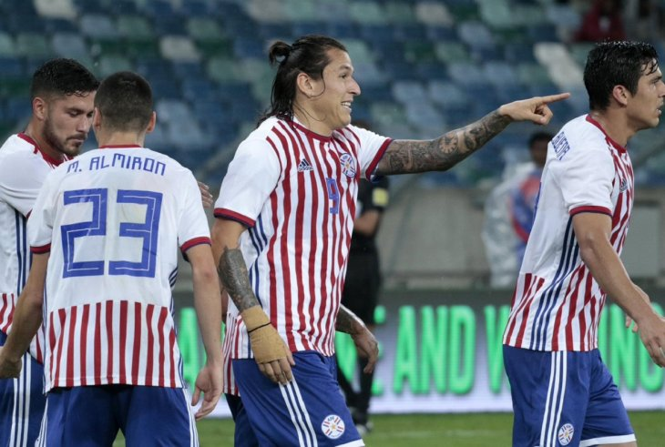Paraguay en la Copa América 2019