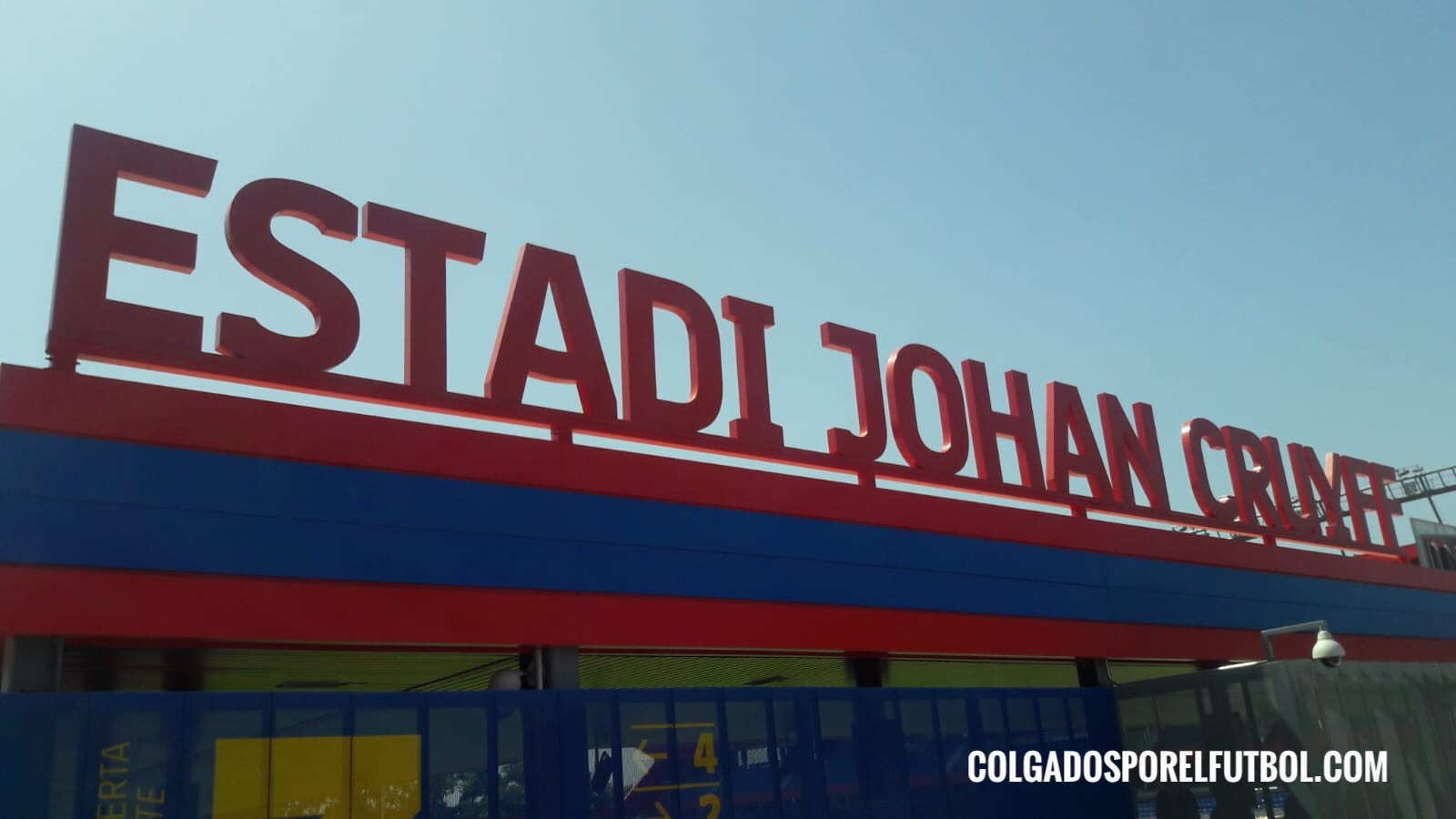 The beautiful new stadium Johan Cruyff is now a reality
