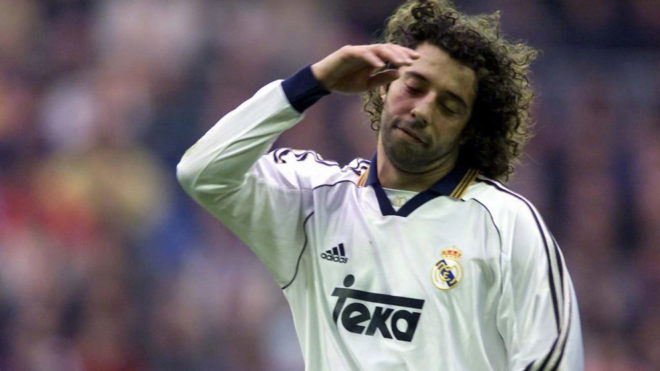 Ivan Campo had a difficult time at Real Madrid