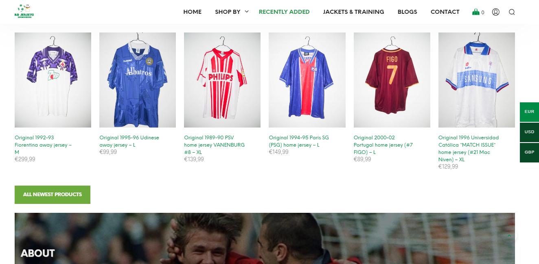 Conoce las mejores tiendas de productos de fútbol