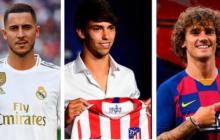 Real Madrid, Barcelona y Atlético apuestan fuerte para  2019-20