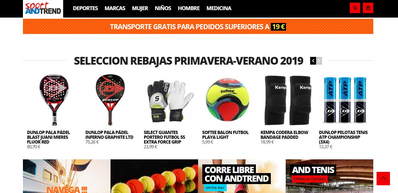 tiendas de productos de fútbol