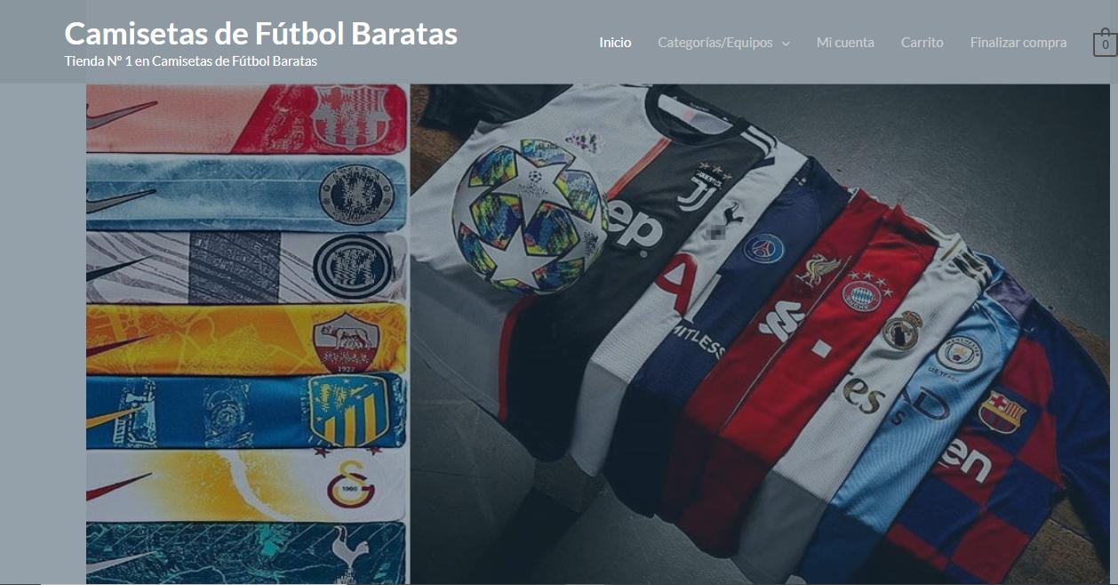 mejores tiendas de camisetas de fútbol