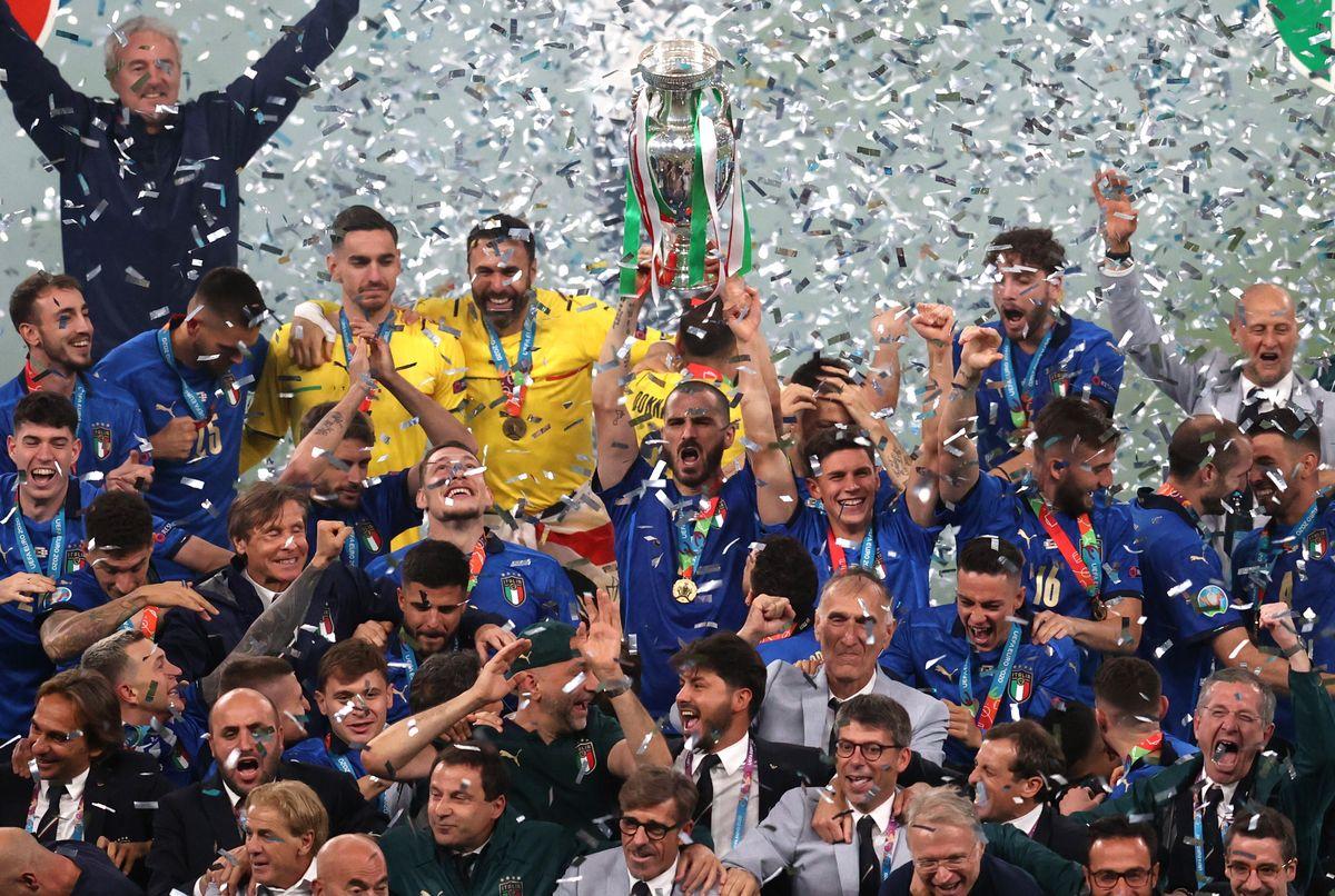 El palmarés de la Eurocopa