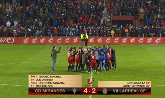 El CD Mirandés ya es todo un clásico de la Copa del Rey