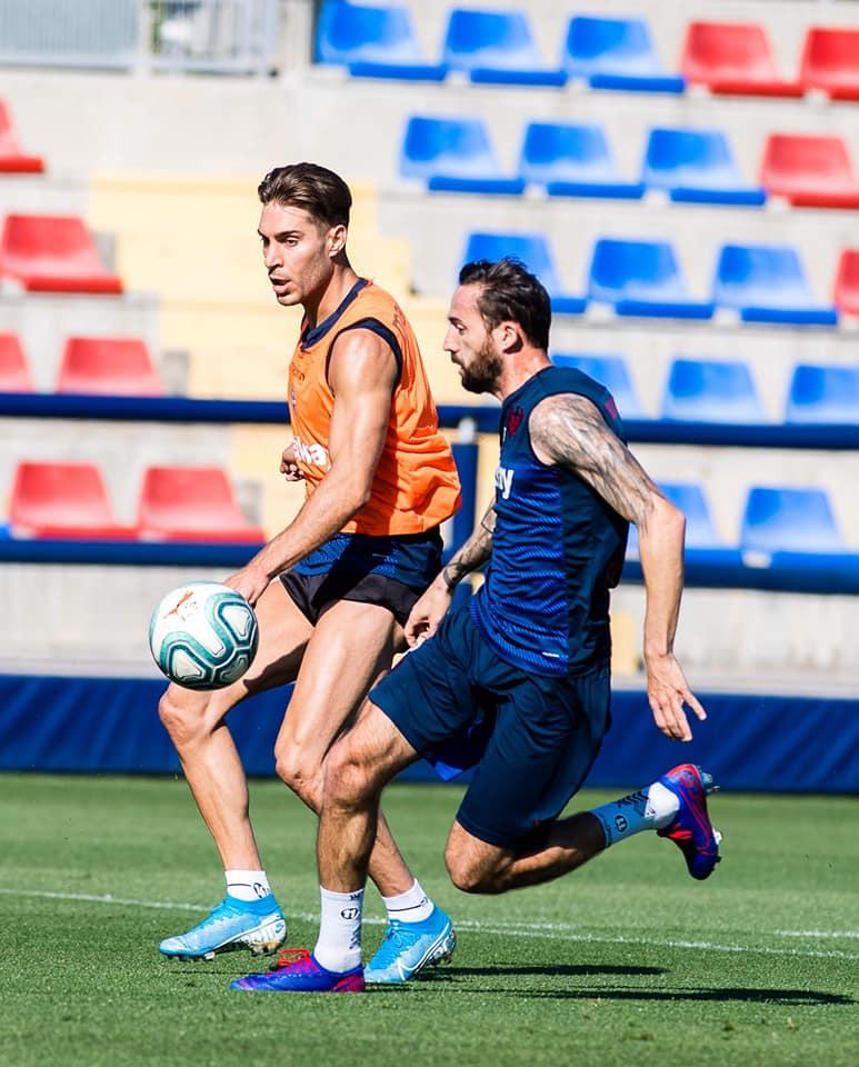 Levante returns to group training