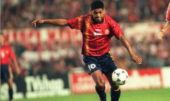 black players who played for Spain