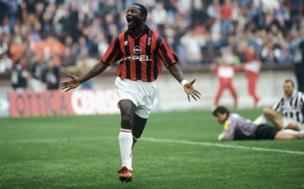George Weah, the best striker he has given Africa