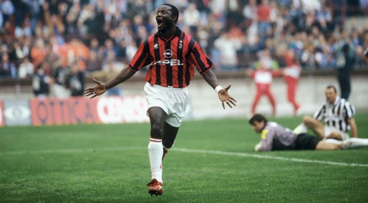 George Weah, the best striker that Africa has given