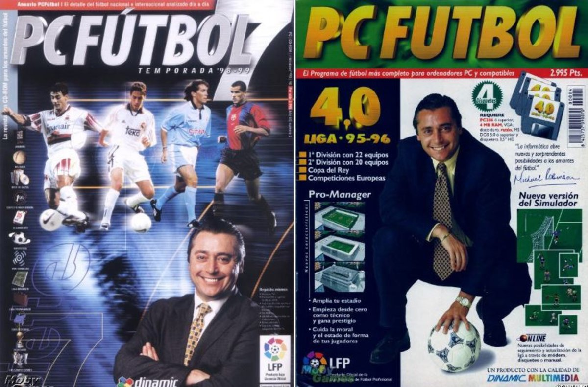 PC Football,  the first major football manager