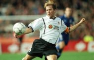 Gaizka Mendieta: bat shield Valencia