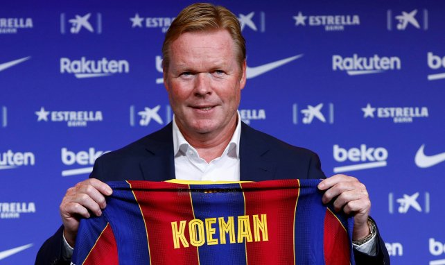 Ronald Koeman's new Barcelona