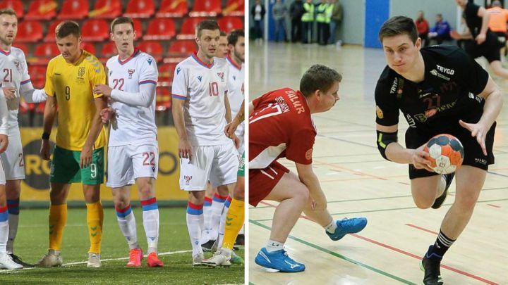 Vom professionellen Handballspieler zum internationalen, die Dinge der 2020