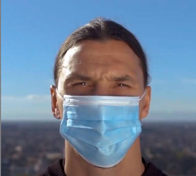 Ibrahimovic fordert das Virus nicht heraus