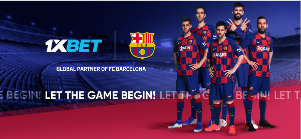 FC Barcelona includes 1XBET as its new global partner