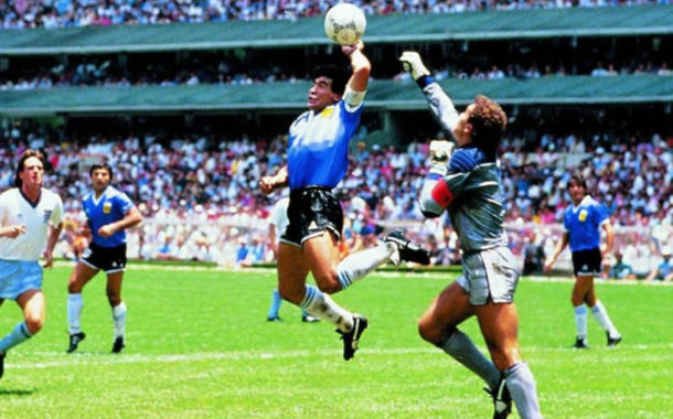 Maradona and the rivalry between England and Argentina