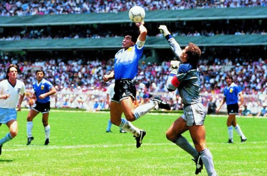 Maradona y la rivalidad entre Inglaterra y Argentina