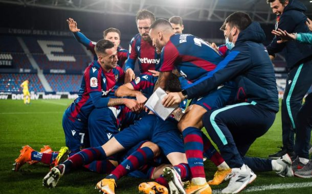 Levante in search of the dream of the Copa del Rey