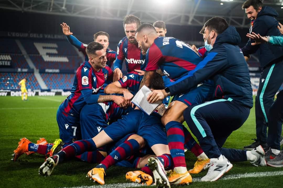 El Levante en busca del sueño de la Copa del Rey