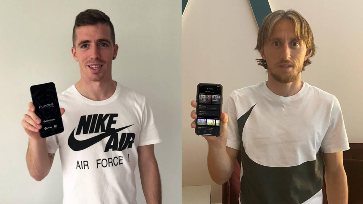 La pasión de los futbolistas por las nuevas tecnologías
