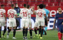 El Sevilla en puestos de Champions