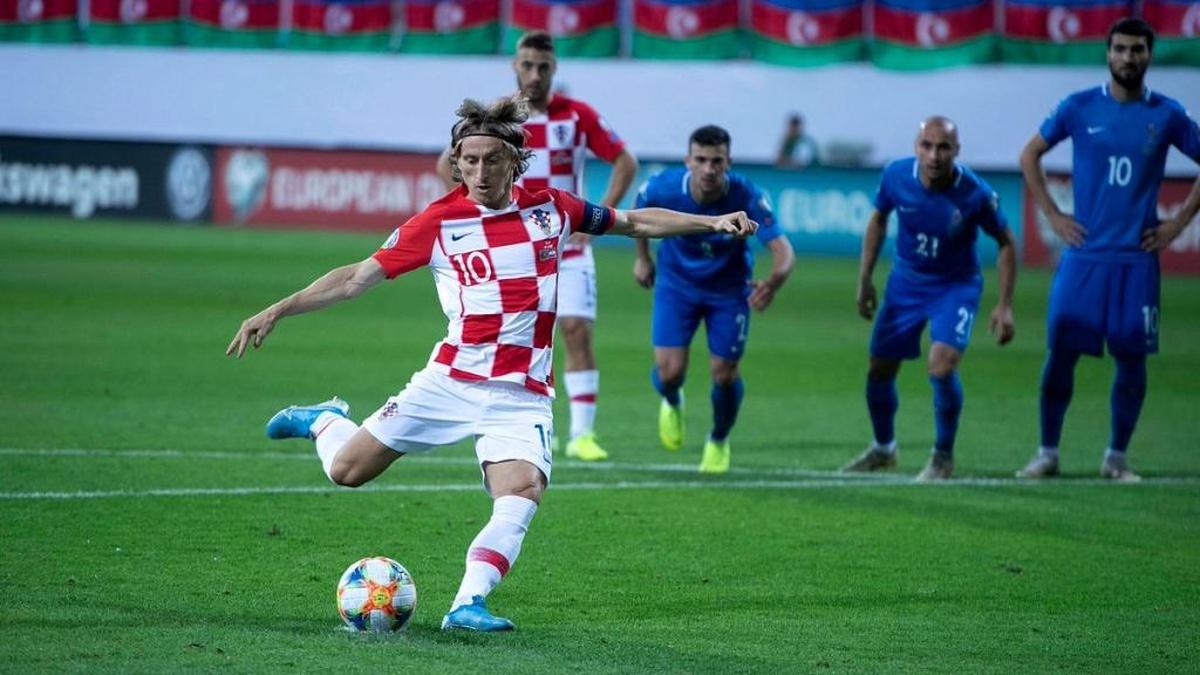 Kaderliste von Kroatien für den Euro 2020