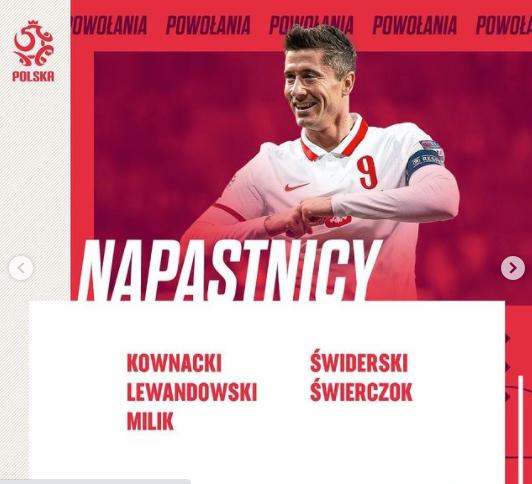 Liste der aus Polen gerufenen Euro 2020