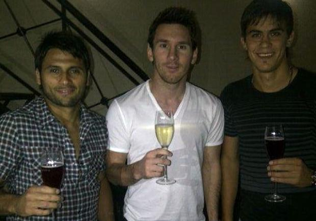 primos futbolistas de Messi